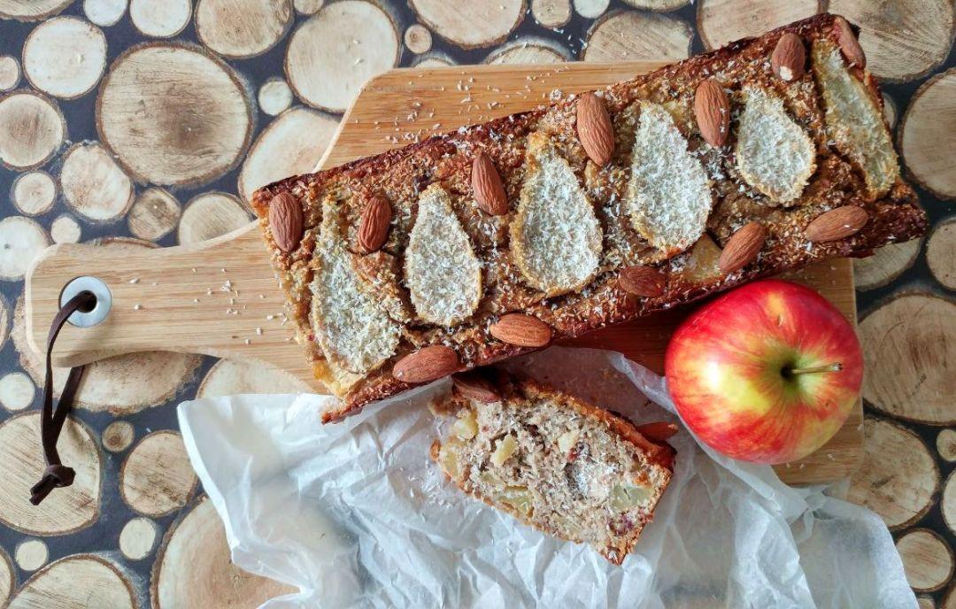 gezonde appel-peercake