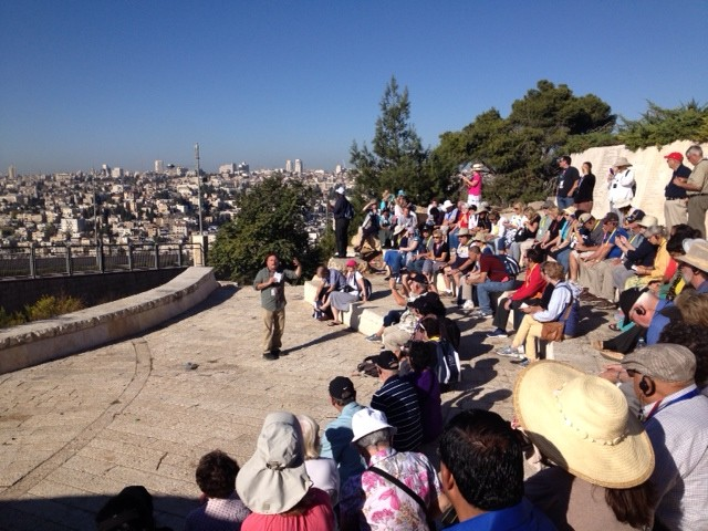 Myles recounts the many mysteries of the city of Jerusalem