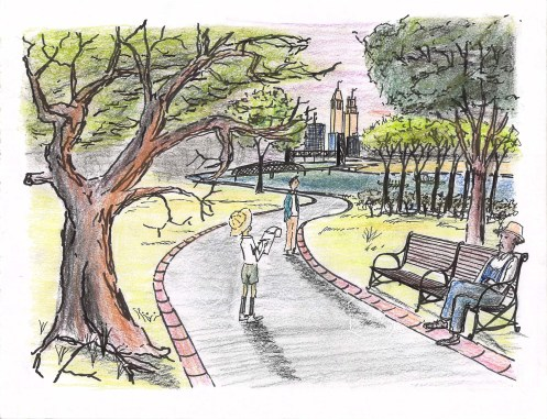 A new park on the Passaic River