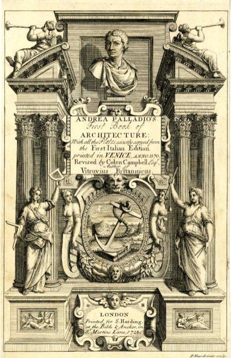 """Frontispiece of """"De Architectura"""""""