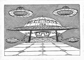 UFO landing strip