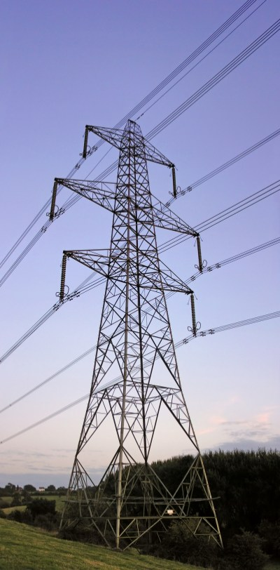 High voltage transmission lines - the towers of today?