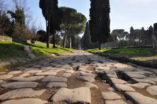 Roman highway (Via Appia)