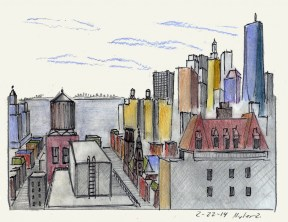 View from Brooklyn Heights