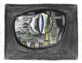 The city in the dinosaur's eye