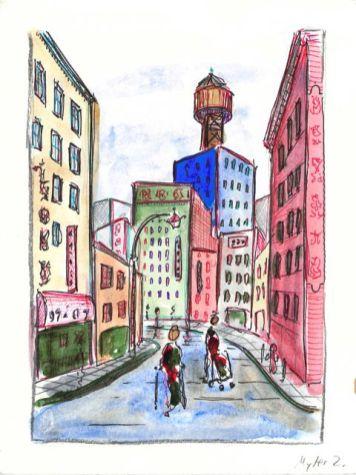 Doyers Street - Barbershop Row