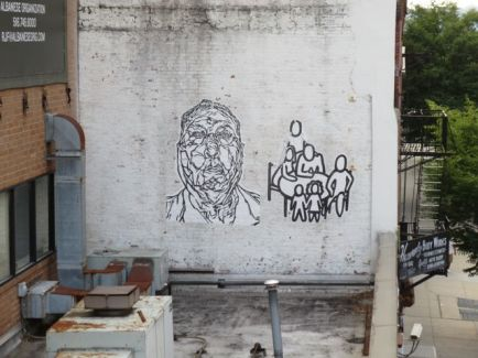 Rooftop Grafitti