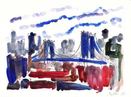 View Toward Manhattan Bridge