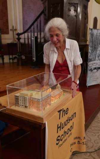 Suellen Newman with her School