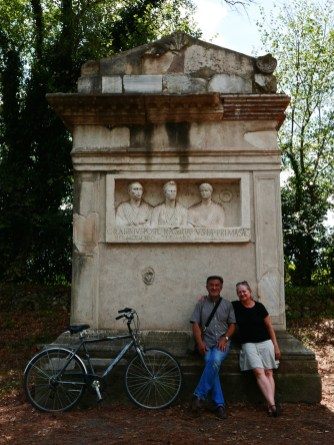Via Appia (With Mom & Dad)