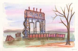 69th Street Transfer Bridge