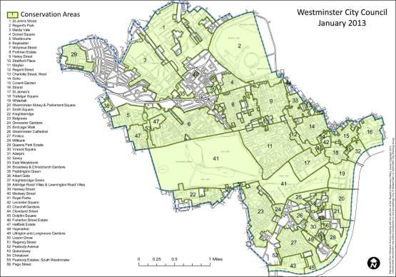 Conservation areas in Westminster, London