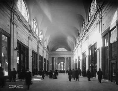 Arcade in 1911
