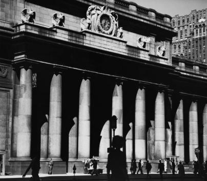 Main Facade Center to Northeast in 1963 by Walker Evans
