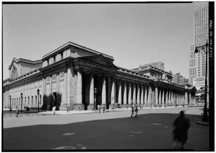 Main Facade in 1962 by Cervin Robinson