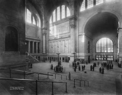 Waiting Hall from East Entrance in 1911