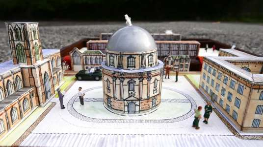 Radcliffe Camera - History Library