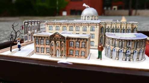 Clarendon Building - the original home of Oxford University Press