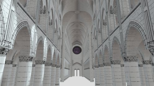 Choir towards nave
