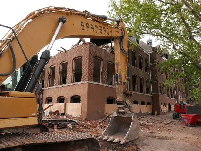 Warren Street School Demolition 67