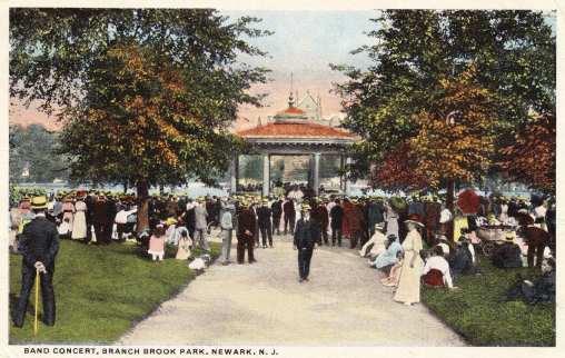Branch Brook Park Bandstand