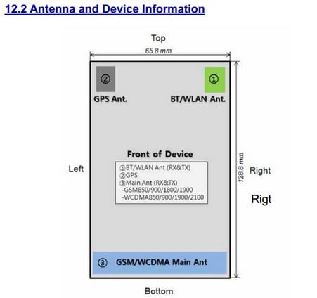 LG G2 MINI (Model LG D618) Approved By The FCC