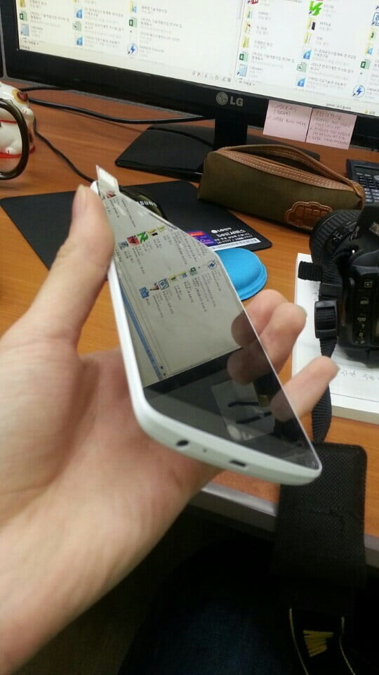 The White LG G3 Surfaces In Leaked Photos