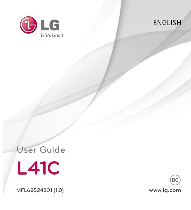 Tracfone LG L41C User Manual / Guide – My LG Cell Phones