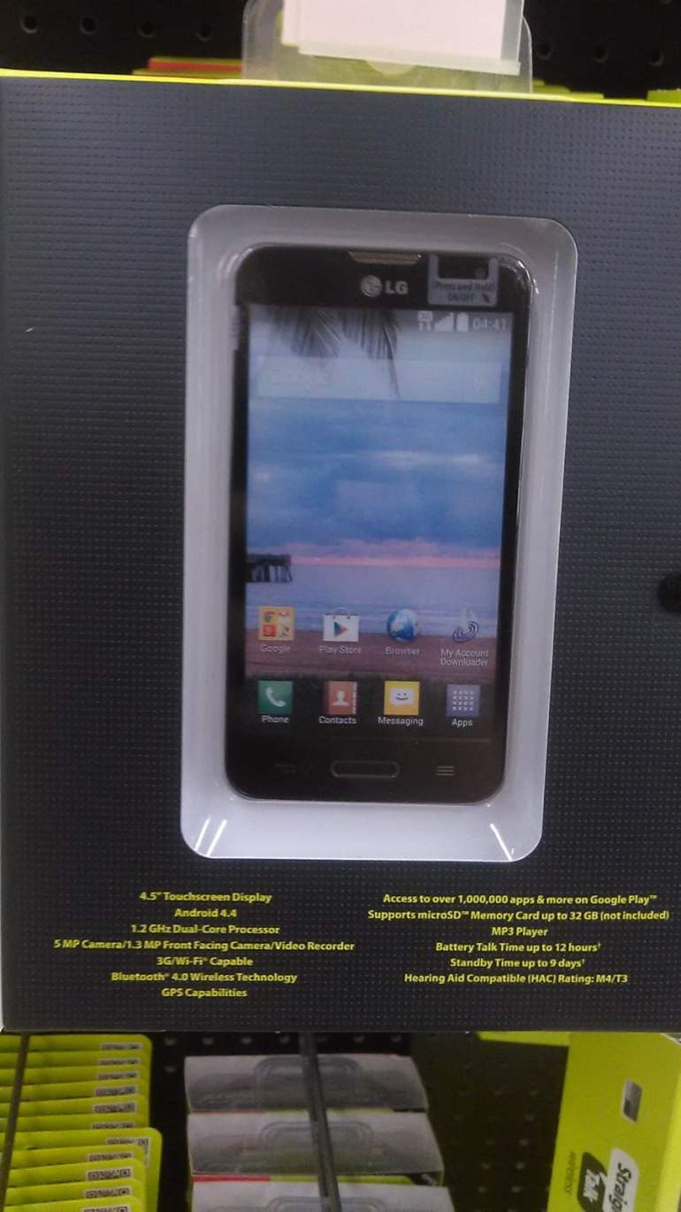 Straight Talk LG L41C now available through walmart for