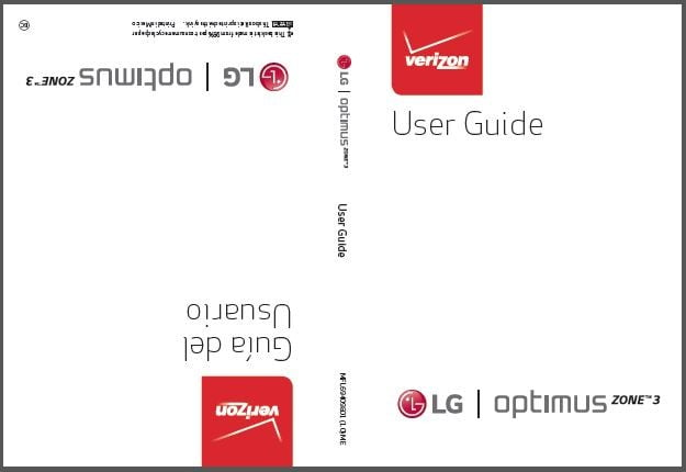 verizon lg optimus zone 3 user manual guide rh mylgphones com User Manual Kindle Fire User Guide