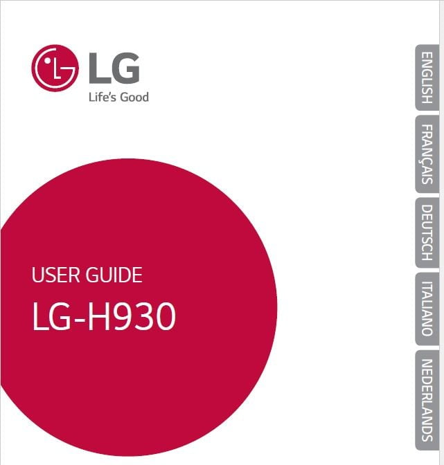 LG V30 H930 User manual / Guide Pie Version - My LG Cell Phones