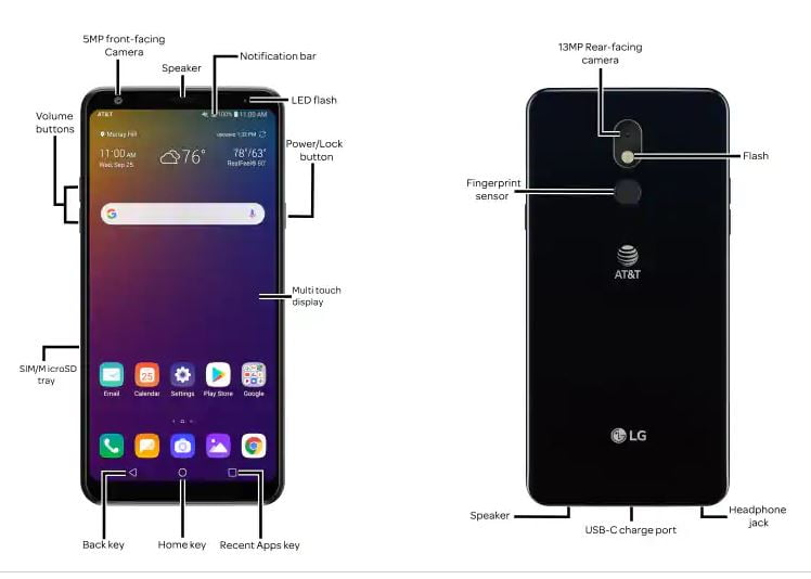 AT&T LG Stylo 5 Plus Firmware