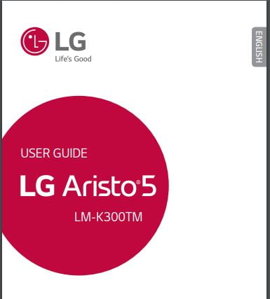 Sprint LG Aristo 5 User Manual