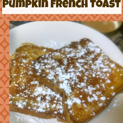 Gluten & Dairy-Free Pumpkin French Toast