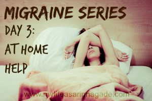migraine series day 3 at home help