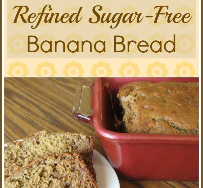 Gluten, Dairy & Refined Sugar-Free Banana Bread