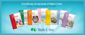 Math-U-See giveaway via My Life as a Rinnagade