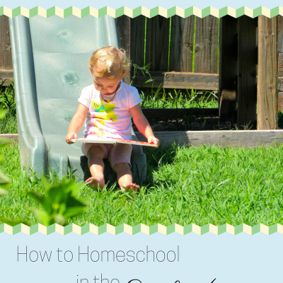 Pre-School…Not Preschool: How to Homeschool in the Early Years