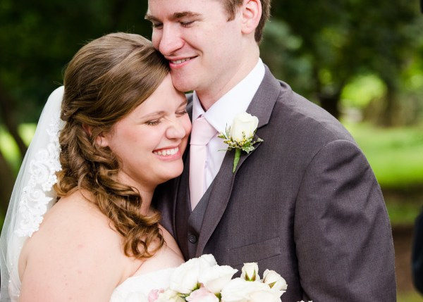 Blogger gets married, wedding day