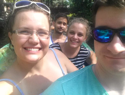 King's Dominion Log Flume ride