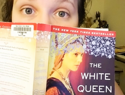 Currently Reading The White Queen by Philippa Gregory