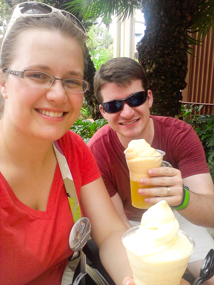 Magic Kingdom Dole Whips