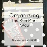 Kon Mari Organizing Project #1: Paperwork