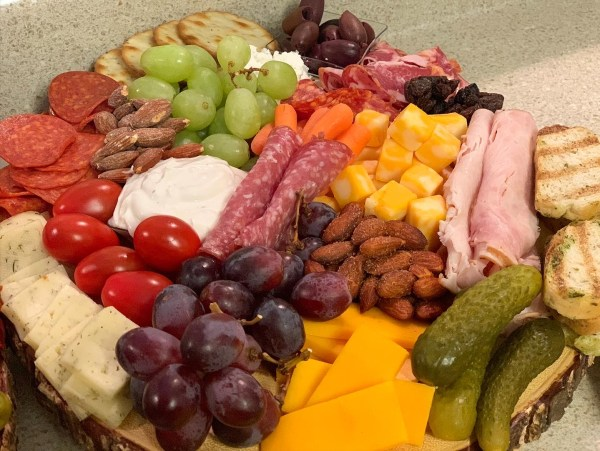 Easy and simple Charcuterie boards on a budget from Aldi