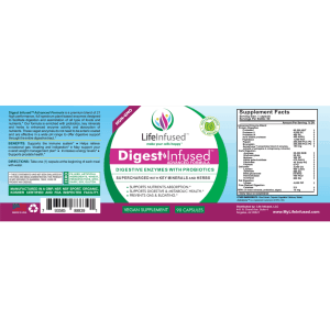 digest infused label