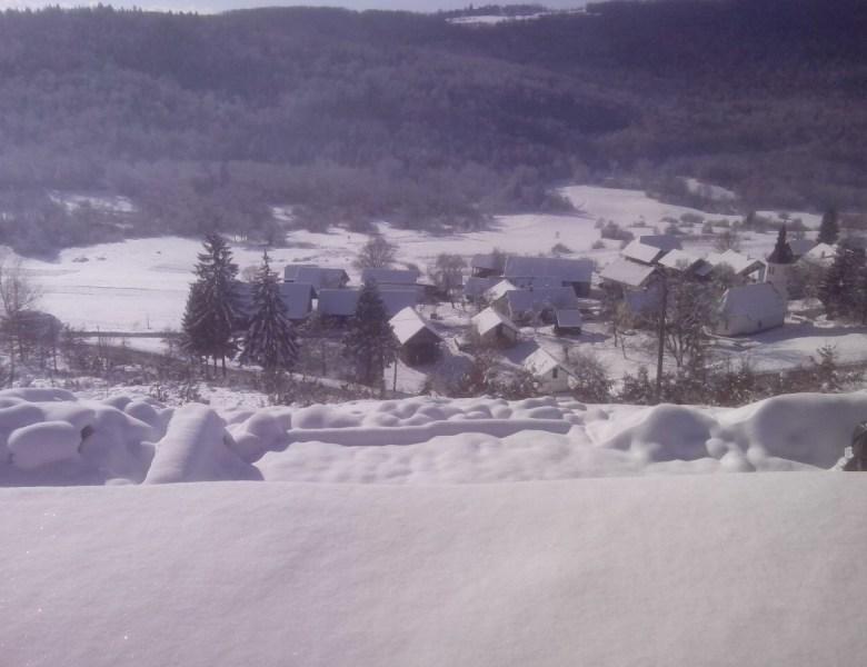 Snow in Gradenc