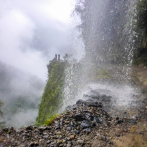 THE death road waterfall 1
