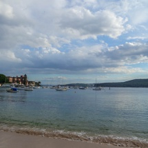 Manly harbour beach