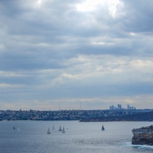 Manly north head view
