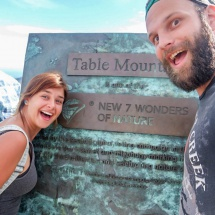 table mountain bruh & I sign